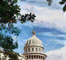 Capitolio, Havana, Cuba by buttonpresser