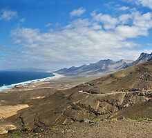 Fuertaventura Panorama by David Alexander Elder