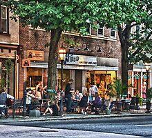 Dinner On Main Street by Steve Febbraro