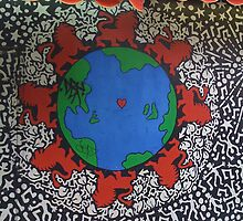 Red Lion World by Mark Roon-Reitmeier