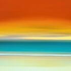 Crack of Dawn over the Beach by David Alexander Elder