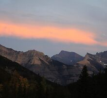 Mountain Sunset by Alyce Taylor