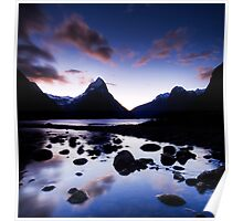Milford Sound, Last Glow Poster
