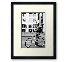 Errm, slightly lost ... Framed Print