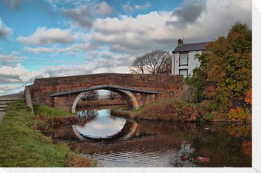 The Bridge at Church. by Irene  Burdell
