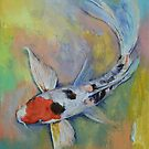 Maruten Butterfly Koi by Michael Creese