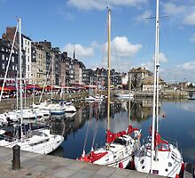 Beautiful Honfleur by Carol Walker