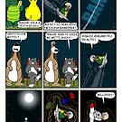 "Rick the chick  ""THE MAGIC SHELL (La barriera del suono) parte 17"" by CLAUDIO COSTA"