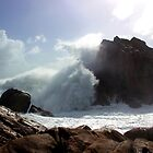 Angry sea by Anthony 'Bones' Dryden