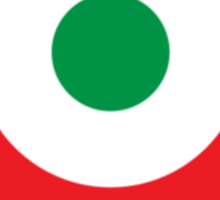 retro bianchi logo Sticker