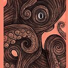 Octo iPhone Case by Lynnette Shelley
