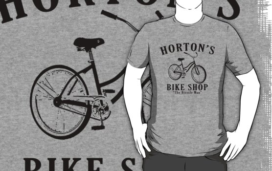 Hortons bike shop by personalized
