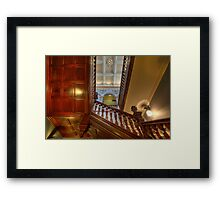 Customs House Staircase • Brisbane • Queensland Framed Print