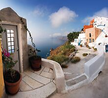 Oia, Santorini by Kelly Kingston