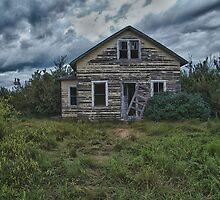 Saskatchewan Farm House #2 by JasPeRPhoto