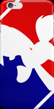 Major League Pony (MLP) - Rainbow Dash - Mark 2 Phone Case by phyrjc2