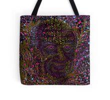 Albert Hofmann psychedelic portrait Tote Bag