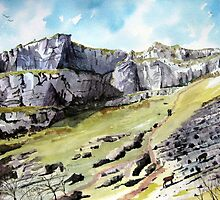 """The Calling Cliffs"" - Cheddar Gorge, Somerset by Timothy Smith"