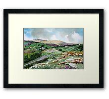 """Mountains & Moors"" - Ballymakeera, County Cork, Ireland Framed Print"
