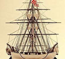 USS Constitution by Nigel Fletcher-Jones