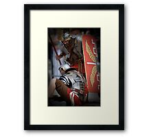 Roman Soldiers  Framed Print