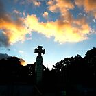 Cross. Sky. by tutulele