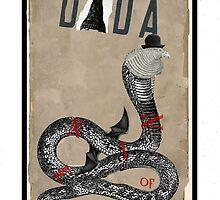 Dada Tarot- Nine of Cups by Peter Simpson
