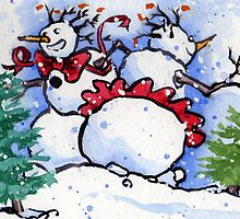 Snowdance by Lori Lukasewich