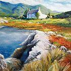 Mountain house, Kerry, Ireland by Roman Burgan