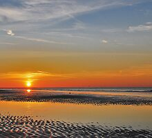A summer sunset in October by Adri  Padmos