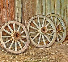 Three Wheels Off My Wagon by Sharon Brown