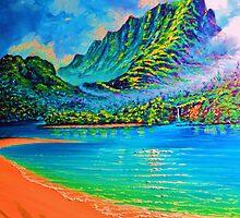 Moonlit Lagoon - wip 2 by jyruff
