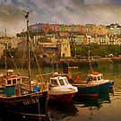 Fishing Boats at Brixham by ajgosling
