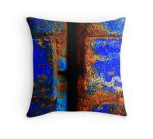 Moroccan Rust II Throw Pillow