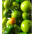 Green Tomatoes ~ iPhone case by ©The Creative  Minds