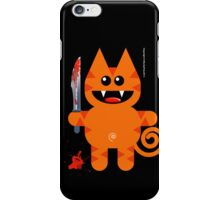 KAT 2 (Cute pet with a sharp knife!) iPhone Case/Skin