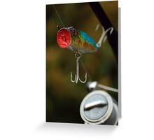 Surface Lure Greeting Card