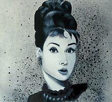 """""""Audrey hepburn"""" by Mandy-Jayne Ahlfors"""