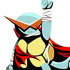 Kamina Squirtle (Large) by Photosmagoria
