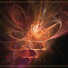 Maximum power of love by Fractal artist Sipo Liimatainen