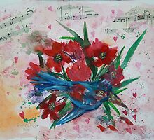 BOUQUET,S FOR  A YEAR  by eoconnor