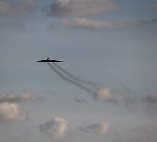 XH558 Vulcan Bomber by yampy
