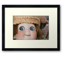 Googly Boy Framed Print