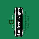 Lantern Lager iPhone Case by fishbiscuit