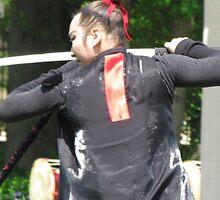 Korean sword dancer by Martina Nicolls