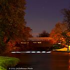 Covered Bridge by Night by ZASlothower