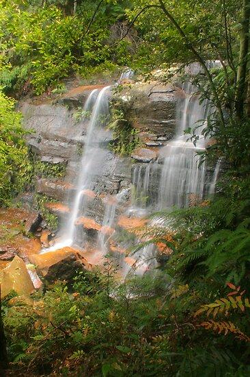 Flat Rock Falls  by Michael Matthews