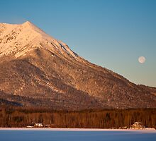 Hudson Bay Mountain 6621 by Curtis Cunningham