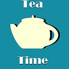 Tea Time (Minimalist) by Anglofile