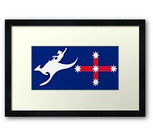 New Australian Flag Design AFL5 Framed Print